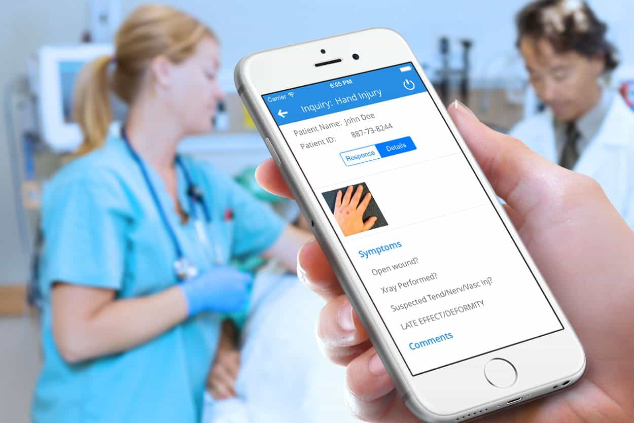 Healthcare mobile apps can deliver critical health data and present diagnosis through telemedicine services.