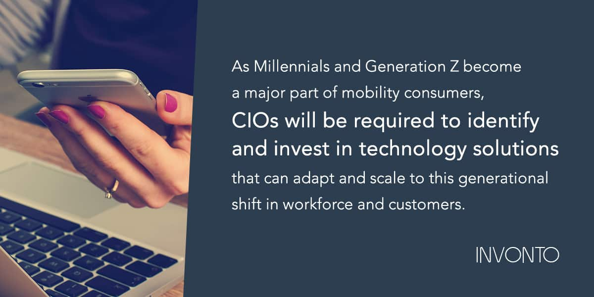 Millennials | How To Develop A Successful Enterprise Mobility Strategy