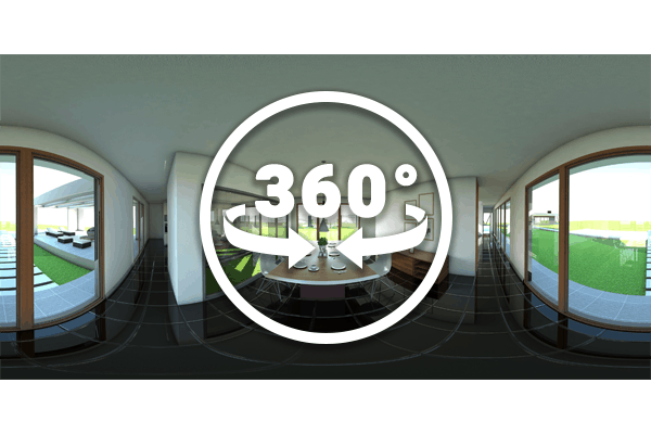 Experience 360 video and image panoramas