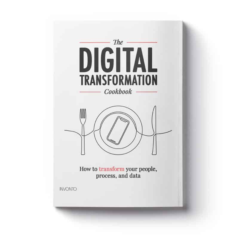 Digital Transformation Cookbook cover page